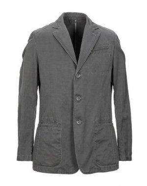 Пиджак MABRUN. Цвет: свинцово-серый