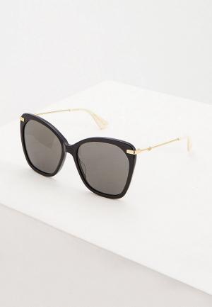 Очки солнцезащитные Gucci GG0510S001. Цвет: черный