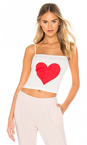 Майка the simple heart Selkie. Цвет: белый