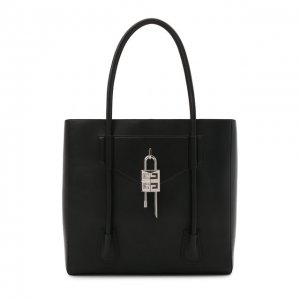 Кожаная сумка-тоут Antigona Givenchy. Цвет: чёрный
