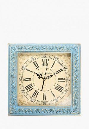 Часы настенные Михайлъ Москвинъ. Цвет: голубой