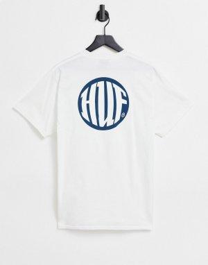 Белая футболка hi def-Белый HUF