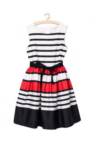 Платье для девочек 5.10.15.. Цвет: белый
