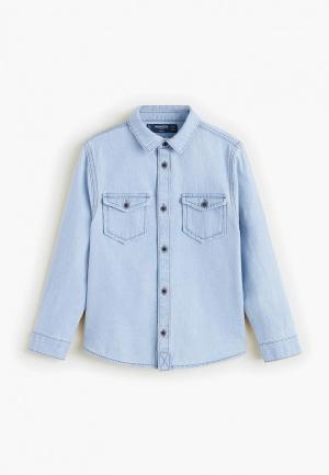 Рубашка джинсовая Mango Kids - DAVE. Цвет: голубой