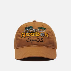 Кепка Classic Roadtrip Reebok. Цвет: коричневый
