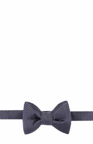 Шелковый галстук-бабочка Tom Ford. Цвет: фиолетовый
