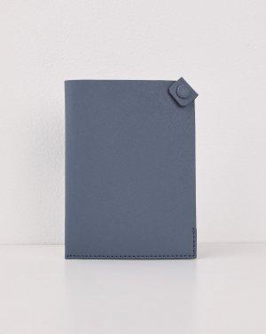 Обложка для паспорта 12STOREEZ. Цвет: темно-синий