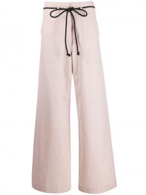 Расклешенные брюки с кулиской Ann Demeulemeester