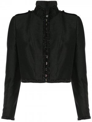 Куртка-болеро с бисером Dsquared2. Цвет: черный