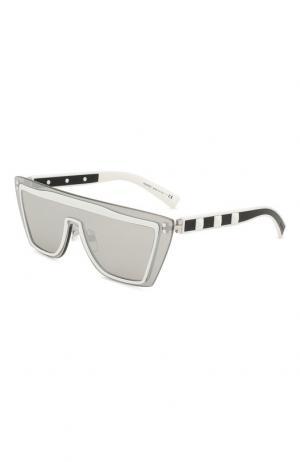Солнцезащитные очки Valentino. Цвет: чёрно-белый