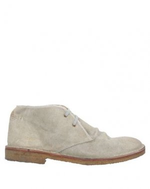 Полусапоги и высокие ботинки GOLDEN GOOSE DELUXE BRAND. Цвет: серый