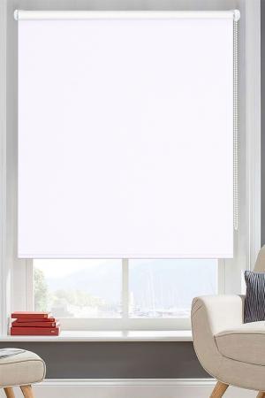 Рулонные шторы 57х170 PIKAMO. Цвет: белый