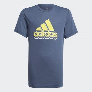 Футболка для фитнеса AEROREADY Prime Performance adidas. Цвет: желтый