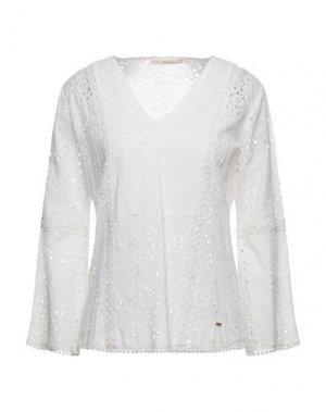 Блузка GAUDÌ. Цвет: белый