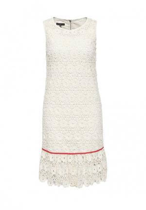 Платье Apart AP002EWJIU66. Цвет: белый