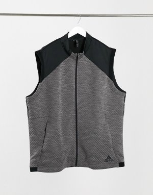 Серый жилет COLD.RDY adidas Golf