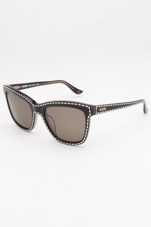 Солнцезащитные очки Moschino. Цвет: белый