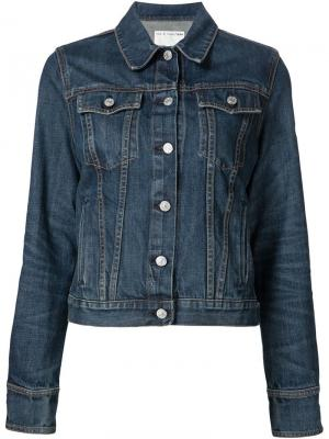 Джинсовая куртка Rag & Bone /Jean. Цвет: синий