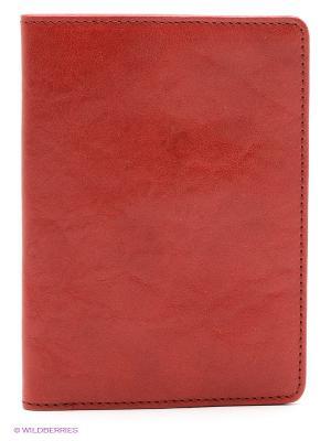 Обложка для паспорта Kofr. Цвет: красный