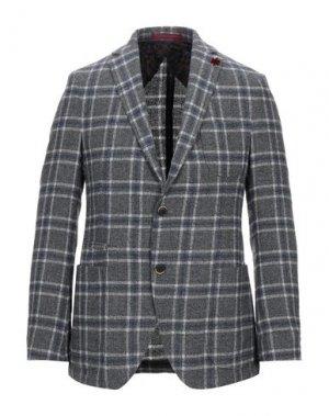 Пиджак GIACCHE'. Цвет: серый