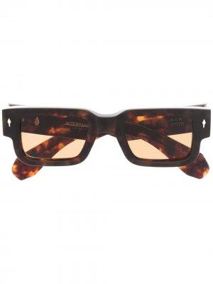 Солнцезащитные очки Ascari Jacques Marie Mage. Цвет: нейтральные цвета