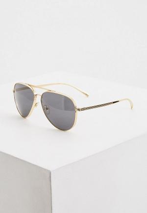 Очки солнцезащитные Versace 0VE2217 100287. Цвет: золотой