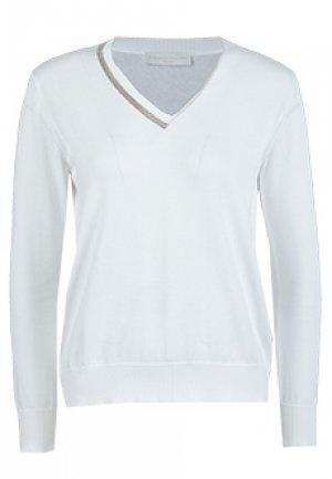 Пуловер FABIANA FILIPPI. Цвет: белый