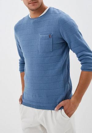 Джемпер Tom Tailor. Цвет: голубой
