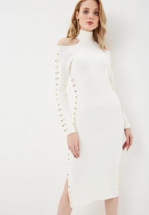 Платье Alice + Olivia. Цвет: белый