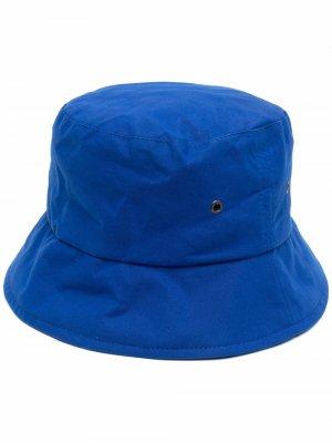 Вощеная панама Mackintosh. Цвет: синий