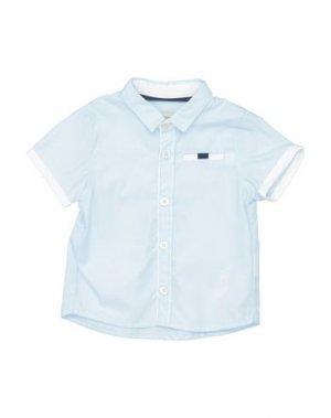 Pубашка JEAN BOURGET. Цвет: небесно-голубой