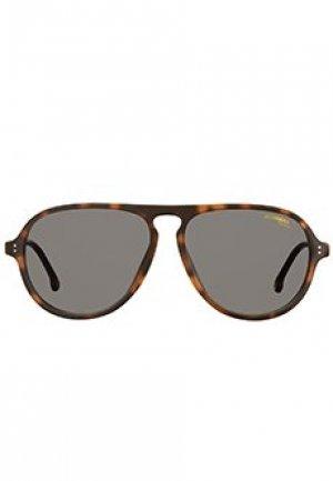 Солнцезащитные очки CARRERA. Цвет: коричневый