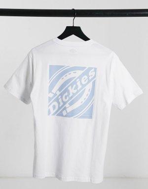 Белая футболка с принтом на спине FNB Box-Белый Dickies