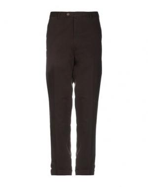 Повседневные брюки DIMENSIONE. Цвет: темно-коричневый
