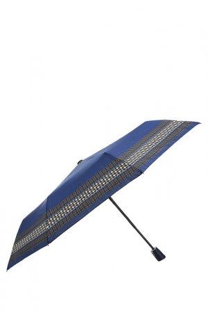 Зонт Doppler. Цвет: клетка, полоска, синий
