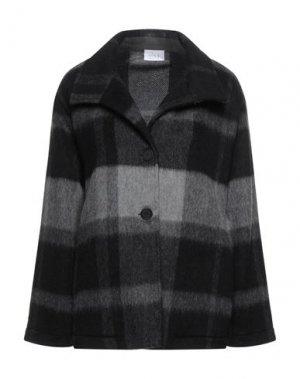 Пальто CLIPS MORE. Цвет: серый