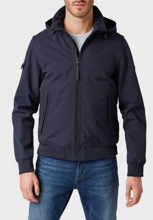 Куртка сноубордическая Tom Tailor. Цвет: синий