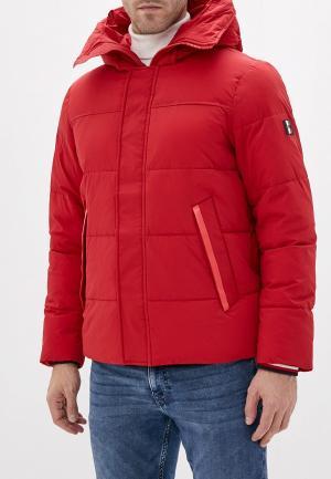 Куртка утепленная Tommy Hilfiger. Цвет: красный