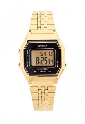Часы Casio Collection LA680WEGA-1E. Цвет: золотой