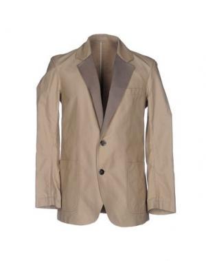 Пиджак UMIT BENAN. Цвет: бежевый