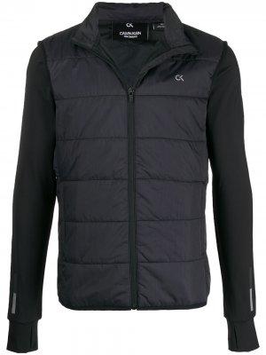 Куртка с логотипом Calvin Klein. Цвет: черный