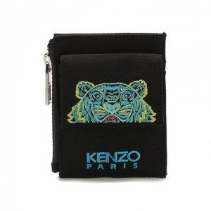 Текстильный футляр для кредитных карт Kenzo. Цвет: чёрный