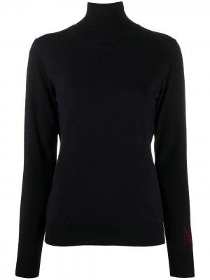 Джемпер с логотипом на рукавах Nina Ricci. Цвет: синий