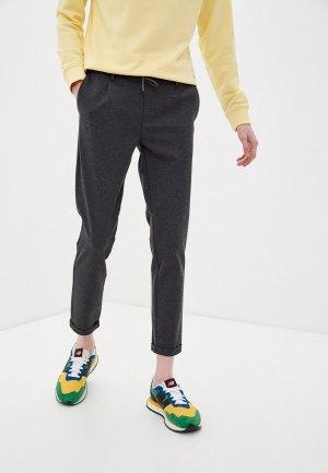 Брюки спортивные Indicode Jeans. Цвет: серый
