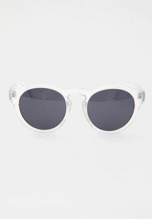 Очки солнцезащитные Pull&Bear. Цвет: прозрачный