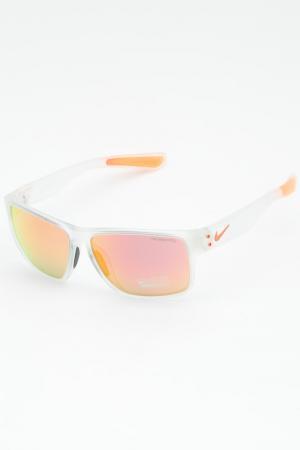 Очки солнцезащитные Nike. Цвет: белый