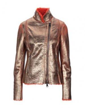Куртка DACUTE. Цвет: бронзовый