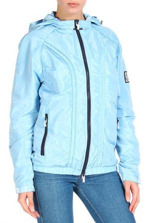 Ветровка Moncler. Цвет: голубой