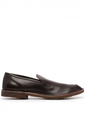 Лоферы с закругленным носком Premiata. Цвет: коричневый