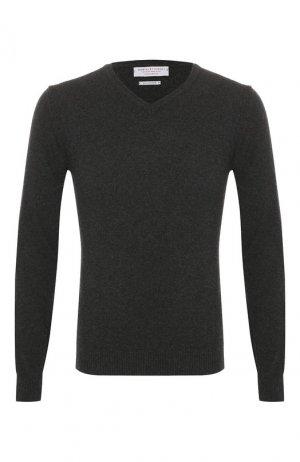Кашемировый пуловер Daniele Fiesoli. Цвет: серый